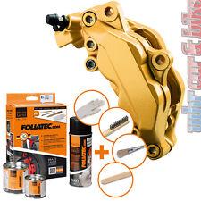 Foliatec 2165 Bremssattel Lack Set prestige gold metallic 7-tlg hitzebeständig