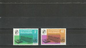 St Christopher Nevis Anguilla  1966 WHO  Set   MNH  Scan 1930