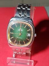 Vintage Mens Omega Geneve Automatic Swiss Date Watch Cal.1012 23 Jewels Gold pld