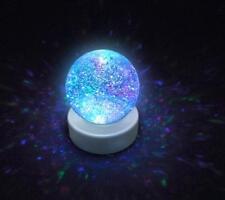 Calming Autism Sensory LED Light Toys Magic Glitter Ball Color Changing Globe
