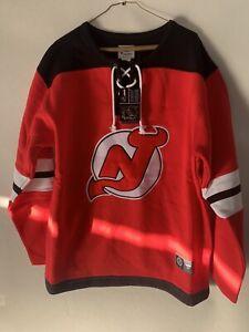 New Jersey Devils NHL Fanatics Branded Red Franchise Pullover Sweatshirt