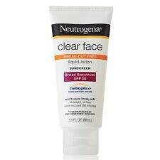 Neutrogena Clear Face Sunscreen Lotion, SPF 30 3 fl oz (88 ml)