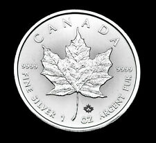 2020 $5 Canada Maple Leaf 1oz Fine .9999 Silver - purest silver available