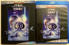 STAR WARS EPISODE I THE PHANTOM MENACE BLU RAY + SLIPCOVER SLEEVE MULTISCREEN