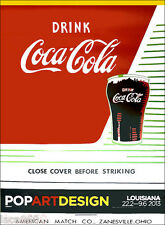 Andy WARHOL Close Cover Before Striking Coca Cola Poster 54 x 41