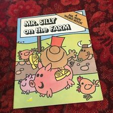 ROGER HARGREAVES. MR. MEN. MR. SILLY ON THE FARM. 1979