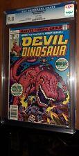 CGC 9.8 Devil Dinosaur 1. First Appearance Devil Dinosaur & Moon Boy White Pages