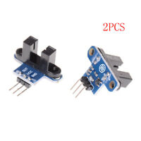 2x IR Infrared Slotted Optical Speed Test Sensor Detection Optocoupler Module HO