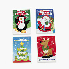 12 Holiday CHRISTMAS Party Favors FUN & GAME Activity Books