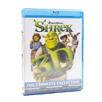 Shrek The Complete Collection 3D Blu-ray All 4 Films Promo Disk Set New Sealed