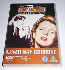 NEVER SAY GOODBYE ROCK HUDSON GEORGE SANDERS UNIVERSAL UK REG 2 DVD NEW & SEALED