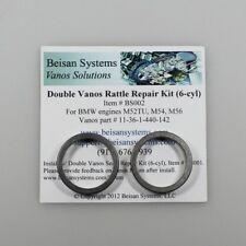 Beisan Systems Doppel Vanos anti Rassel Ringe Reparatursatz  M52TU M54