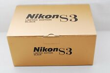 NEW Nikon S3 Black Limited Rangefinder Camera w/NIKKOR-S 50mm 1.4  from Japan