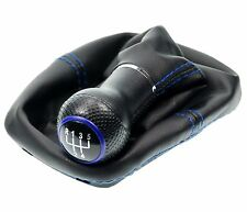Shift gaiter Cuff BLUE Gear knob for VW Golf 2 3 4 Cabriolet Polo 6N Passat 35i