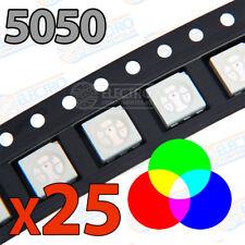 verde CML 19240254 Indicador LED Lámpara Tri-color rojo amarillo 12V DC 14mm