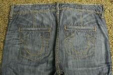 TRUE RELIGION AUSTIN BOARD Shorts 32 NWOT$259 Distressed! Signature Logo Pockets