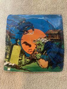 Honey Comb Halloween Cereal Box Record #1 Legend Of Sleepy Hollow 1970s