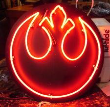 Neon art sign Custom STAR WARS  Rebel Logo light  neons          617