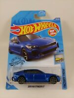 '19 Kia Stinger GT - Blue | HW Factory Fresh 3/10 | Hot Wheels 198/250