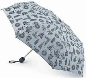 Fulton Stowaway Compact Folding Umbrella London Landmarks