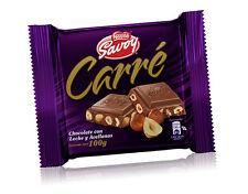 Nestle Savoy Carre Milk Chocolate with Hazelnuts Box (10 count)