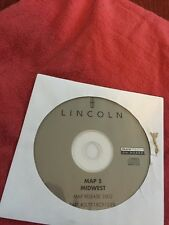 FORD LINCOLN OEM NAVIGATION DISC CD 2L7T-18C912-EB MIDWEST IL IN OH WI MI 5