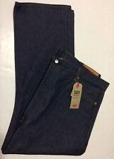 Levis 501 Regular BottomFly Jeans For Men 46x29 Dark Blue NWT 100% Cotton