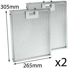 CANNON BHC60 BHC100 Oven Cooker Hood Kitchen Vent Extractor Aluminium Filter x 2