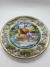 """Winnie The Pooh Disney Bradford Exchange Plate """"To the Rescue!"""" Issue # 1 of 6"""