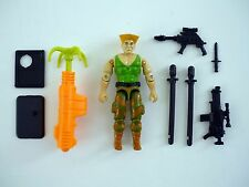 GI JOE GUILE Vintage Action Figure Street Fighter 2 COMPLETE 3 3/4 C9 v1 1993