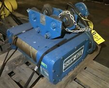 Shaw-Box 80L01050S33A Pneumatic Hoist 2000 lb Capacity 33 fpm Speed