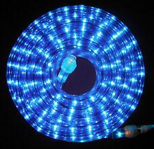 "10x 24Ft Blue Rope Light 110V 120V 2-Wire 1/2"" Incandescent Bulbs Flexilight"