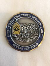 United States Army Pacific Command Reserve Component Retention Coin E22