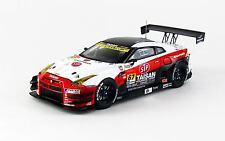 EBBRO 45085 1:43 STP Taisan Gaia Power Nissan GT-R SGT300 2014 #67 White
