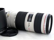 Canon EF 70-200mm 4.0 L IS USM tele objetivamente formato completo garantizar 1 año