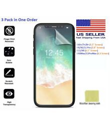 Iphone Screen Protector for 6S+, 7+, 8+, X, XS,11, XR,11 Pro, 11 proMax Film 3p