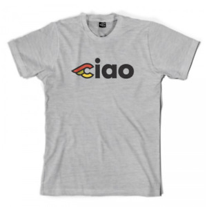 NEW OFFICIAL Cinelli Ciao Cotton T-Shirt MEDIUM Grey Cycling