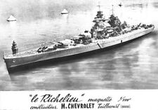 Le Richelieu - Maquette 1/100 e