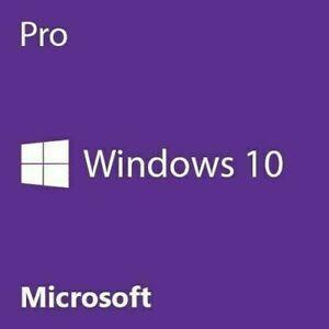 Windows 10 Pro Win 32/64-Bit OEM Vollversion PRODUKTSCHLÜSSEL COA Key Aufkleber