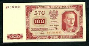 Poland (P139a) 100 Zlotych 1948 UNC