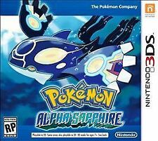 Pokemon: Alpha Sapphire (Nintendo 3DS, 2014) Game only!