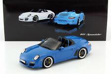 Porsche 911 (997) Speedster azul 1:18 GT-Spirit
