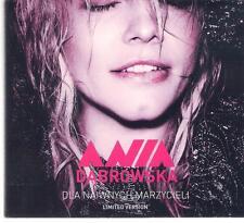 ANIA DABROWSKA DLA NAIWNYCH MARZYCIELI LIMITED VERSION 2CD TOP RARE OOP CD
