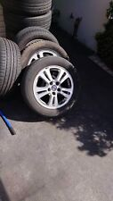 """16"""" ALLOY MAG WHEELS RIMS SUITS SAAB 9-3 1998-2006 GREAT CONDITION WITH TYRES"""
