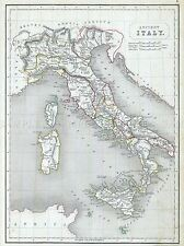 CAMERE mappa antica Italia IMPERO ROMANO REPUBBLICA POSTER STAMPA FOTO 2888pylv