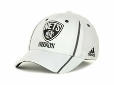 Brooklyn Nets adidas NBA Rev 30 Flex-Fit Men's Fitted Cap Hat - Size: S/M