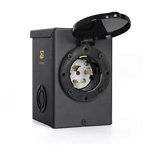50 Amp Generator Inlet Box