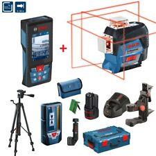 BOSCH Linienlaser GLL 3-80 C Set Laser-Empfänger LR7 Stativ BT150  GLM 120 C