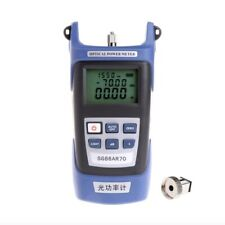 High Precision Optical Power Meter Fiber Testing Wiring Light Decay Tester Tools