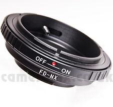 Lentes Canon Fd A Samsung Nx Galaxy nx-2000 Nx-300 nx-310 1100 Monte anillo adaptador